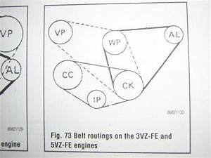 Belt Diagram For 2002 4runner