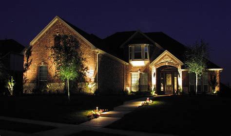 lighting outside house ideas aquatech landscape lighting