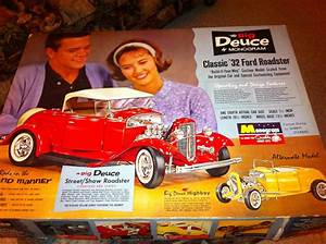 32 Ford 18 scale 1963 issue Monogram MODEL CAR KITS Pinterest Monograms, 32 ford and Ford