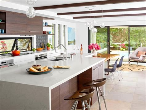 kitchen design magazine a white and wood kitchen remodel hgtv 1256