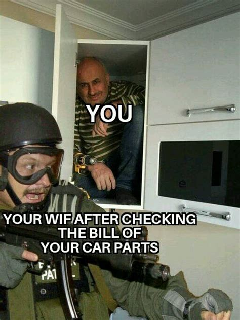 Your meme was successfully uploaded and it is now in moderation. Happens in the house of every car guy