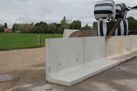 beton l teile keerwanden voor silo s merendree cbs beton