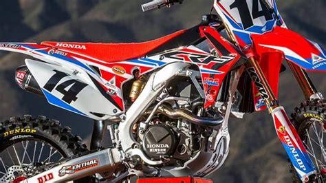 Honda Crf150l 4k Wallpapers by 2017 Honda Crf Motocross Supercross Official 4k