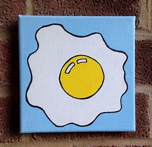 ian viggars art: This simple friend egg painting was one ...