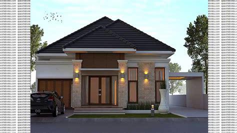 model teras rumah klasik lantai satu trend