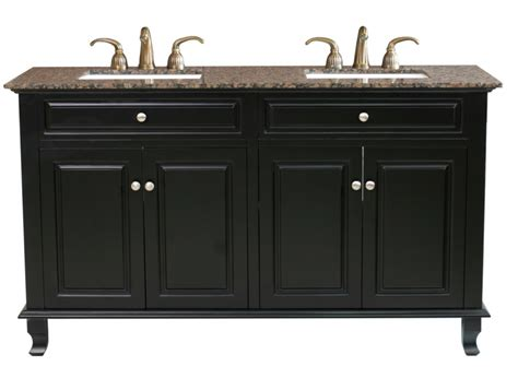 62 double sink bathroom vanity 62 inch double sink bathroom vanity in ebony uvbh60321562bb62