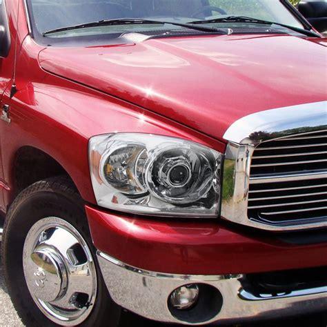 06 Dodge Ram 1500 by 06 08 Dodge Ram 1500 2500 3500 Projector Headlights Chrome