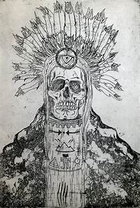 Warding Off Evil Spirits Drawing by Molly Gossett
