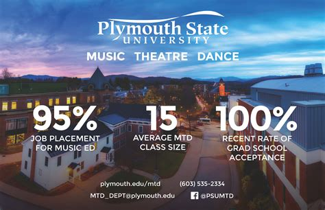 Music, Theatre, And Dance  Plymouth State University
