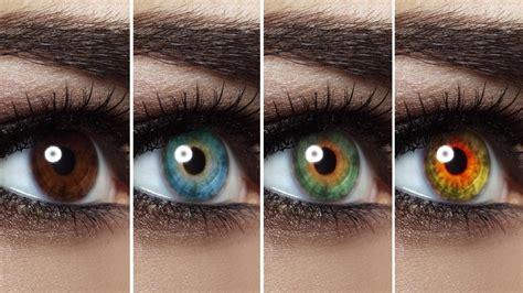 change eye color  photoshop lensvid