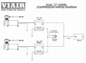 Viair Heavy Duty 60 Amp Fuse Holder 8 Gauge Wire Air Ride