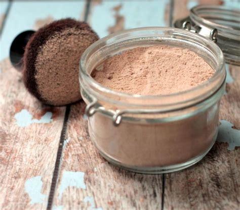 foundation powder recette fait maison poudre et fond de teint fait a la maison