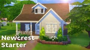 starter homes the sims 4 house building newcrest starter