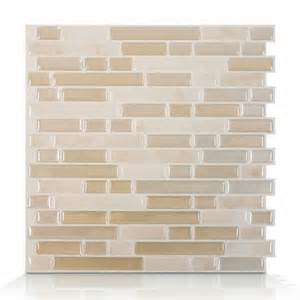 smart tiles sm1043 bellagio sabbia self adhesive wall tile