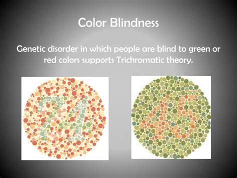 color blindness genetics ppt sensation powerpoint presentation id 1980810