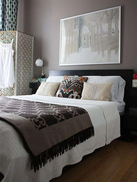 Purple And Brown Bedroom by Paint Color Portfolio Purple Brown Bedrooms Apartment