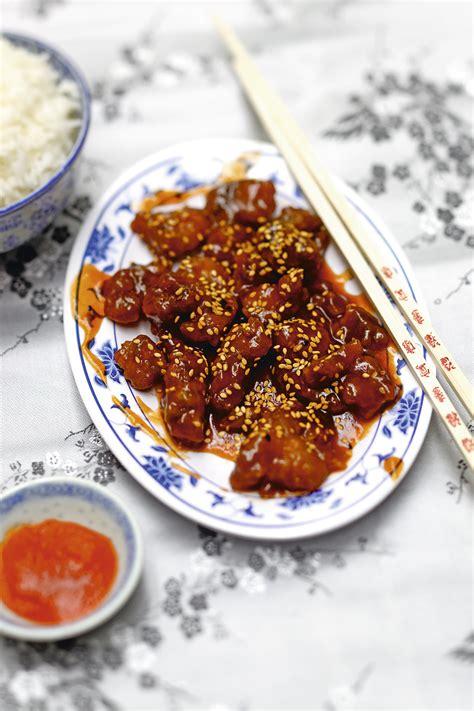recettes cuisine corse poulet caramel au sésame 30 minutes recette chinoise