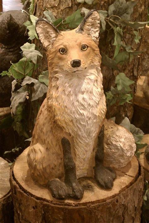 Fox Garden Sculpture