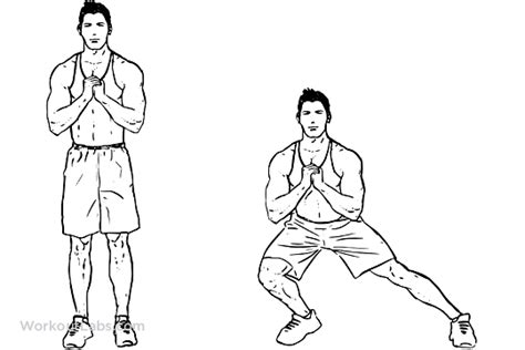 bodyweight side steps lateral lunges workoutlabs