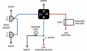 Ceiling Spotlight Wiring Diagram