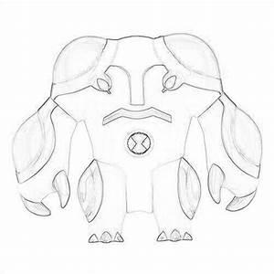 Drawing Of Cannonbolt - Ben 10: Ultimate Alien Fan Art ...