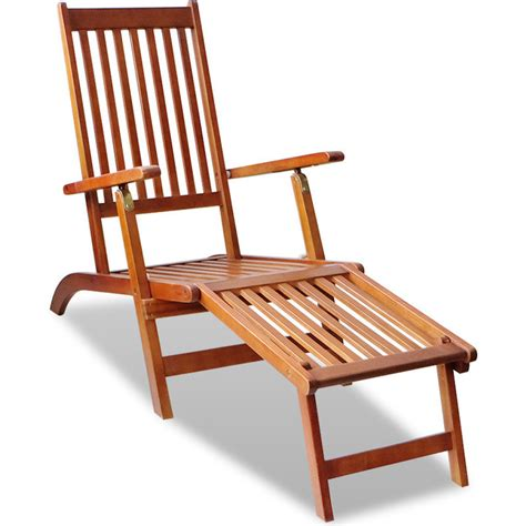 Outdoor Deck Chairs by Adjustable Outdoor Wooden Deck Chair Sun Lounge Buy