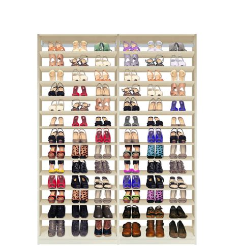 isa custom shoe closet module shoe storage