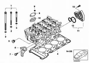 Original Parts For E46 316ti N45 Compact    Engine   Cylinder Head Attached Parts