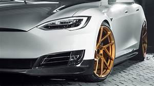 2017 Novitec Tesla Model S 4K 5 Wallpaper HD Car
