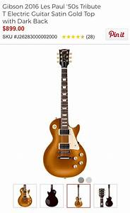 Goldtop Les Paul Guitar Center