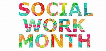 Social Month March Worker Workers National Thank