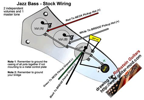 fender jazz bass wiring diagram read about capacitor upgrades here