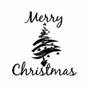 Merry Christmas Clip Art Black And White | New Calendar ...