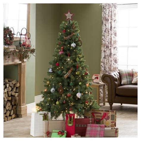 6ft arbour ultima christmas tree buy evergreen fir 6ft tree tesco from our trees range tesco