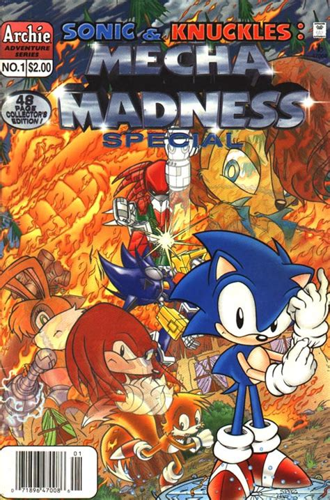 sonic knuckles mecha madness mobius encyclopaedia