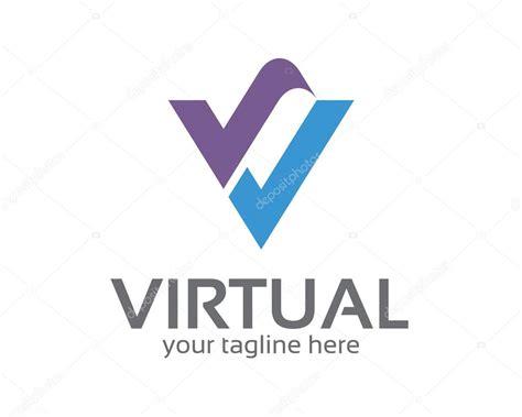 Business Corporate Letter V Logo Design Template. Simple