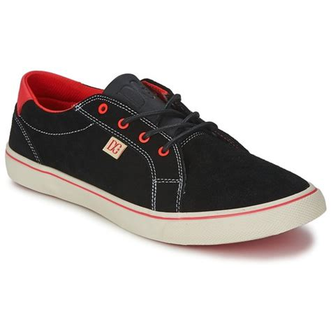 Dc Shoes Council W Black  Red  Free Delivery With