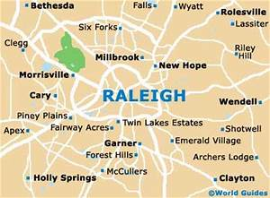 Map of Raleigh Durham Airport (RDU): Orientation and Maps ...