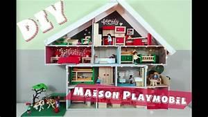 Comment Faire Une Maison : comment faire une maison de playmobil facile youtube ~ Dallasstarsshop.com Idées de Décoration