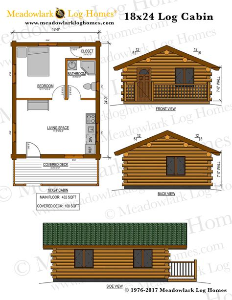 montana cabin  meadowlark log homes