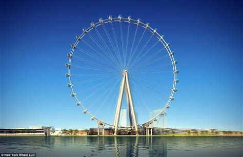 york  build worlds tallest ferris wheel