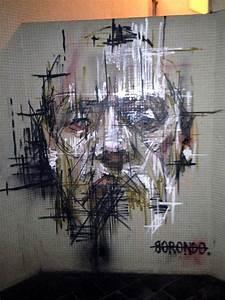 Borondo New Murals In Vitry Sur Seine, France | StreetArtNews | StreetArtNews