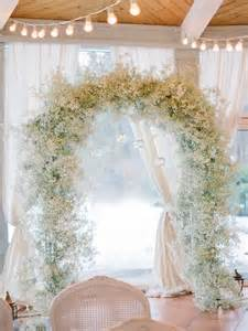 how to make a chuppah 30 winter wedding arches and altars to get inspired