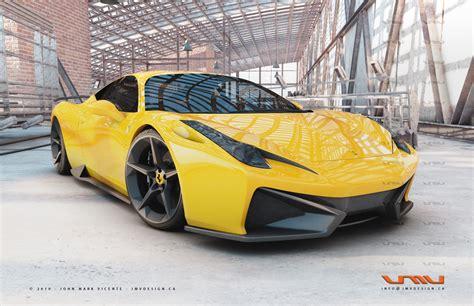 Ferrari 458 Italia Gt Concept By Jmv News Top Speed