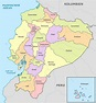 File:Ecuador, administrative divisions - de - colored.svg ...