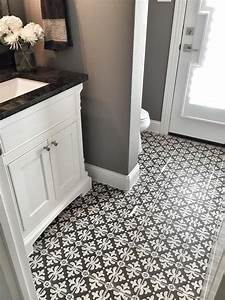 White Ceramic Floor Tiles Bathroom - [peenmedia.com]