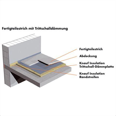 Die Richtige Trittschalldaemmung Fuer Jeden Bodenbelag by Baumaterialien Zement Trittschalld 228 Mmung Dicke Unter Estrich