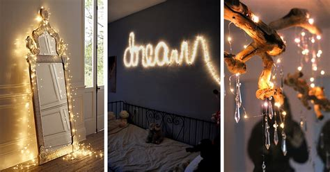 string lights decorating ideas  designs