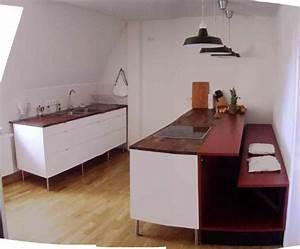 Ikea Küche Alt : ikea k che wei hochglanz mit schreinerbank in m nchen k chenzeilen anbauk chen kaufen und ~ Frokenaadalensverden.com Haus und Dekorationen