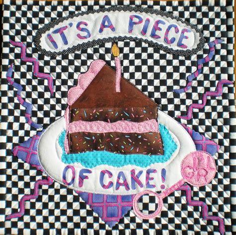material mavens nedras pun  piece  cake